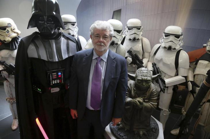 Unknown file photo of Director, Writer, Producer George Lucas.