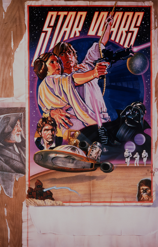 Promotional poster for Star Wars: A New Hope by Drew Struzan