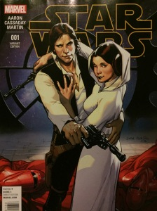 Marvel's Sara Pichelli's Star Wars #1 variant edition. 1/20.