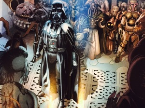 Preview splash page of Star Wars: Darth Vader.