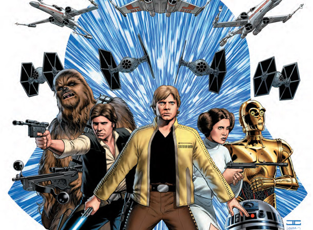 Cover art of Marvel's Star Wars #1 by John Cassaday. Image: Marvel (Entertainment Weekly)