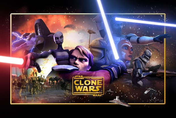 Award winning animated series The Clone Wars continues from Episode II of the Star Wars movies.