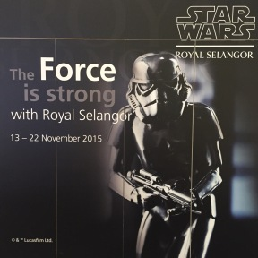 The Force is Strong with Royal Selangor
