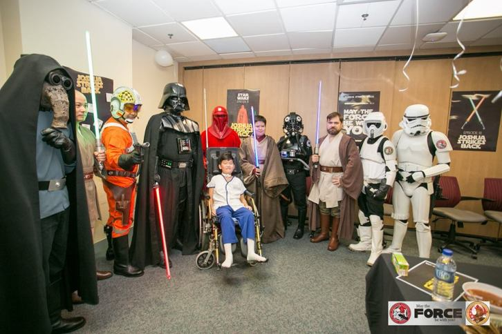 The 501st Legion Singapore Garrison at the Joshua Strikes Back event at the KK Women's and Children Hospital