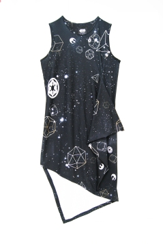 Galaxy Asymmetrical dress